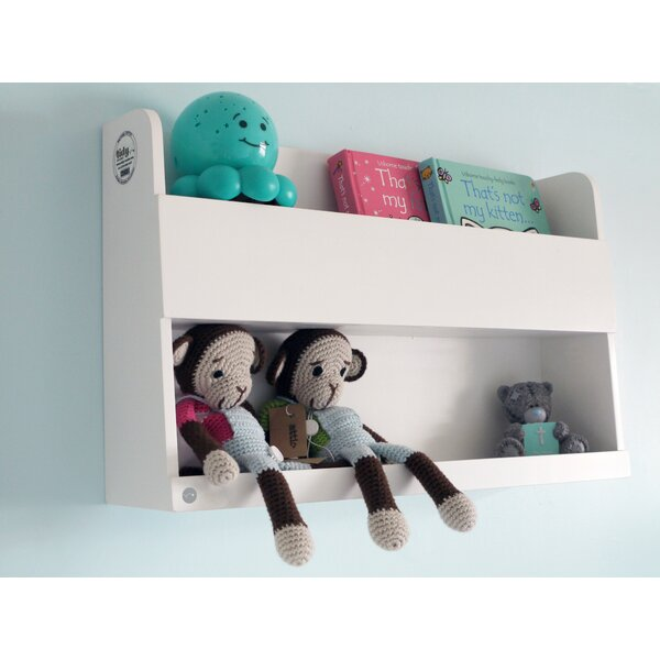 Genesee Bunk Bed Floating Shelves by Zoomie Kids