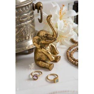 Online Reviews Pewter Elephant Ring Holder ByBloomsbury Market