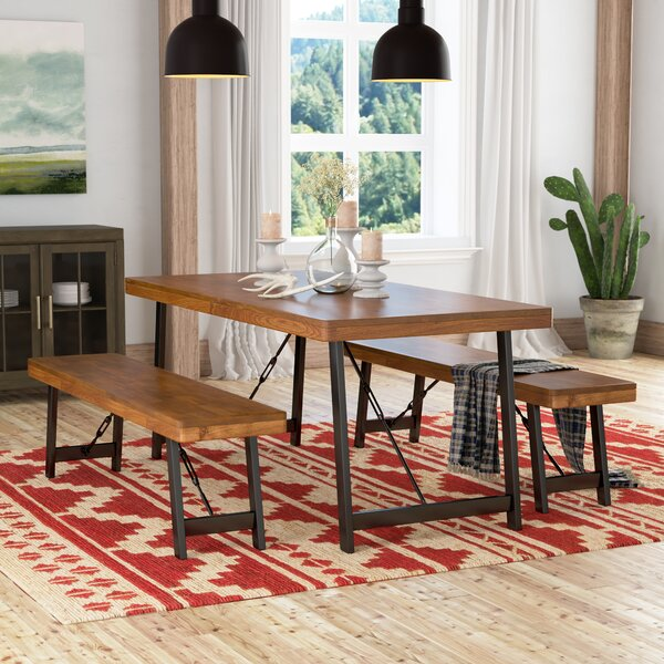 Renken 3 Piece Dining Set by Loon Peak