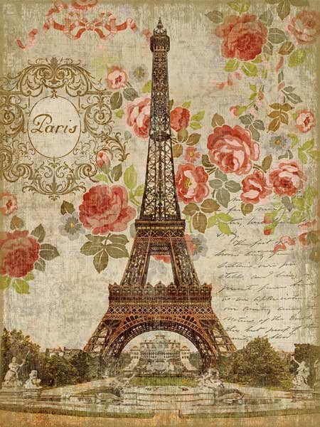 Dreaming of Paris by Graphic Art Plaque by Ophelia & Co.