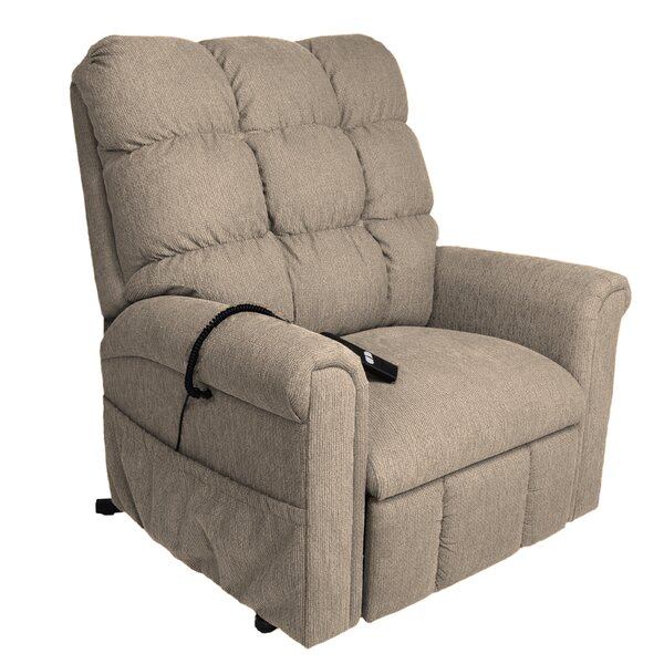 American Series Petite Wide Power Lift Assist Recliner By Comfort Chair Company