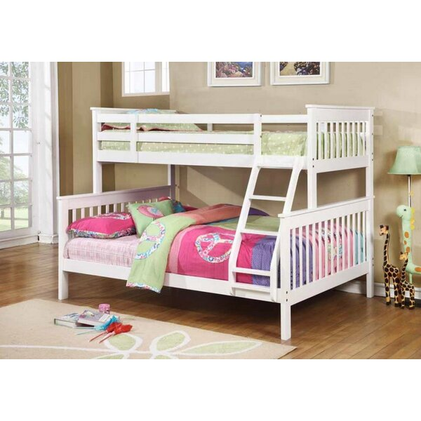 Hippocrates Twin/Full Bunk Platform Bed by Harriet Bee