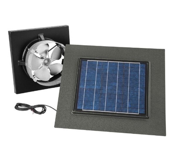 Gable Mount Solar Powered 537 CFM Attic Ventilator by Broan