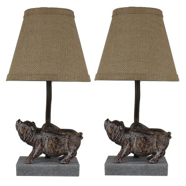Shantel Flying Pig 14 Table Lamp (Set of 2) by Bloomsbury Market