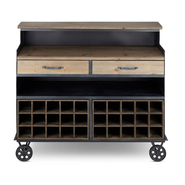 Struble Wood and Metal Crafted Sideboard by Gracie Oaks Gracie Oaks