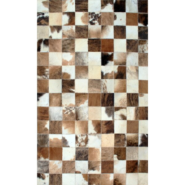 Patchwork Static II Brown Area Rug by Modern Rugs