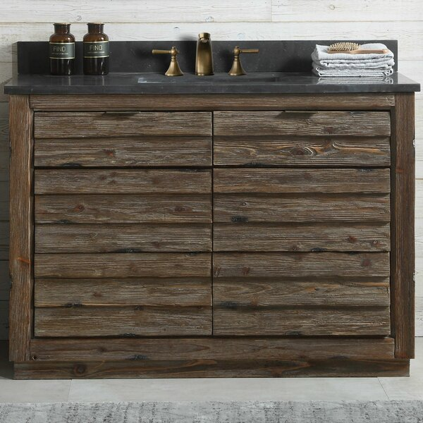 Babette Wood 48'' Single Bathroom Vanity Set by Union Rustic