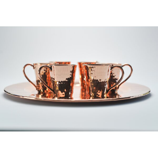 Gunslinger 7 Piece 2 oz Moscow Mule Mug Set by Sertodo Copper