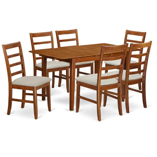 Katie 7 Piece Dining Set by Alcott Hill