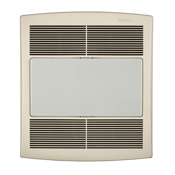 Ultra Silent 80 CFM Energy Star Bathroom Exhaust Fan with Fluorescent Light by Broan
