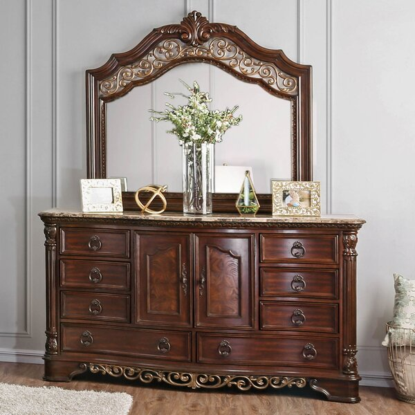 Caulfield 8 Drawer Combo Dresser by Fleur De Lis Living