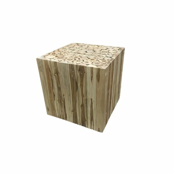 Leu intriguing Root Decoration End Table by Union Rustic