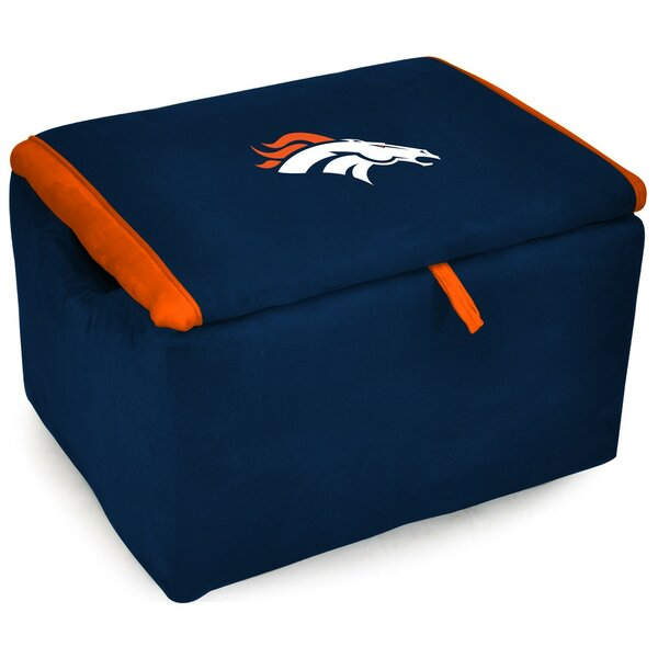 NFL Upholstered Storage Ottoman by Imperial International