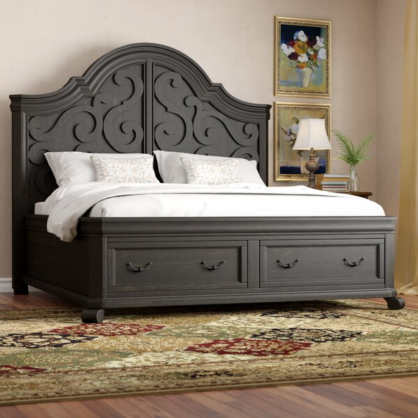 Amoret Arched Storage Standard Bed by Greyleigh