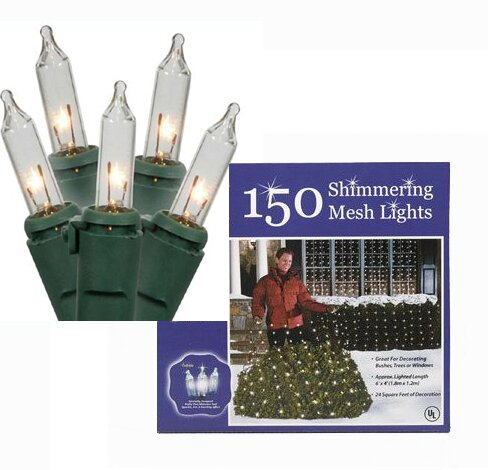 Twinkling 150 Light Christmas Light String by The Holiday Aisle