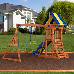 Swing Sets & Playsets You'll | Wayfair on toddler craft ideas, toddler christmas ideas, toddler painting ideas, toddler photography ideas, toddler gardening ideas, toddler playground ideas, toddler birthday ideas, toddler spring ideas, toddler art ideas, toddler breakfast ideas, toddler storage ideas, toddler party ideas, toddler closet ideas, toddler bathroom ideas, toddler room ideas, toddler bedroom ideas, toddler parties ideas, toddler bed ideas, toddler pool juice ideas, toddler halloween ideas,