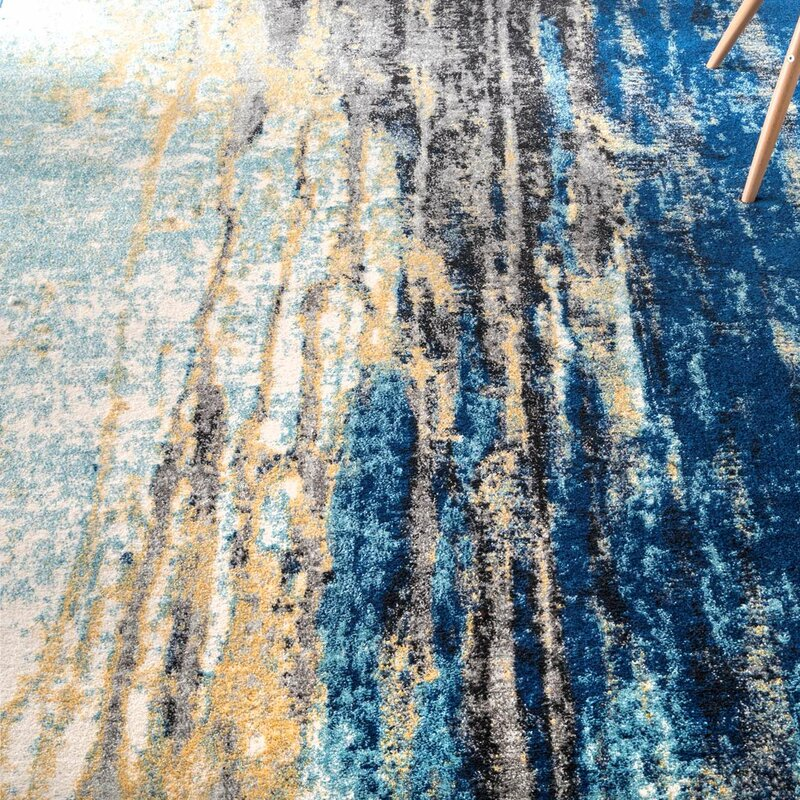 Trent Austin Design Stevensville Blue Area Rug Amp Reviews