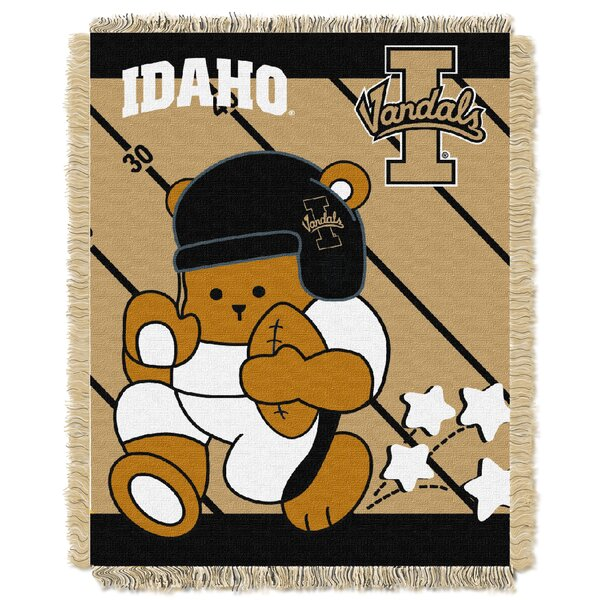 Collegiate Idaho Baby Blanket by Northwest Co.