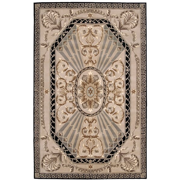 Versailles Palace Hand-Tufted Beige Area Rug by No