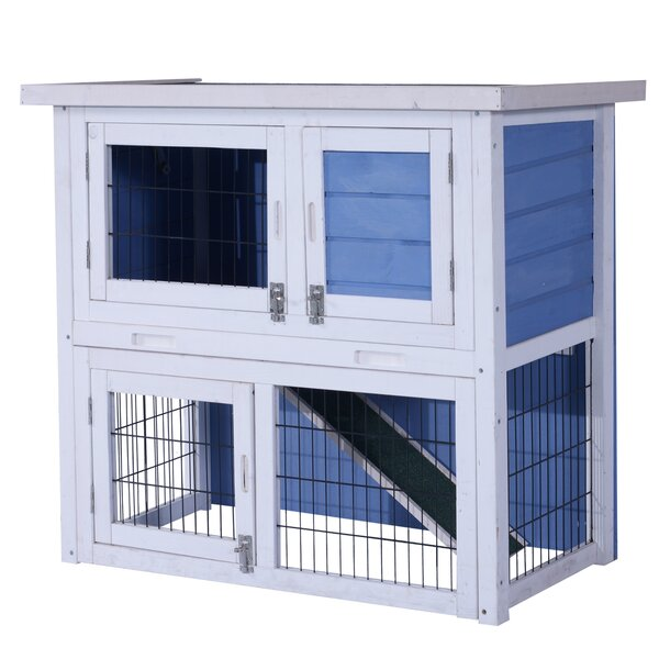 Forsythe Wooden Hutch Small Chicken Coop by Tucker Murphy Pet