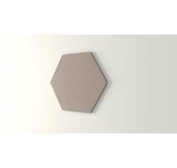 Hexagon Wall Mounted Bulletin Board by OBEX