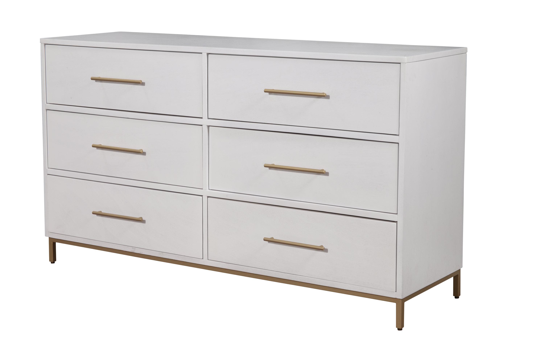 Amella 6 Drawer Double Dresser Reviews Allmodern