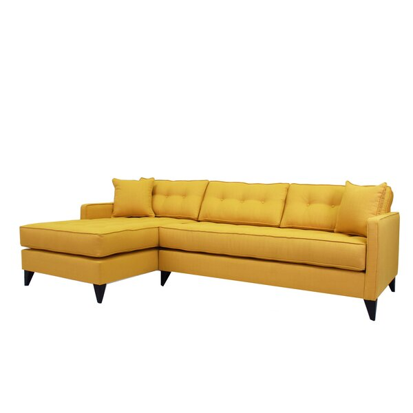 Wolcott Left Hand Facing Sectional by Brayden Studio