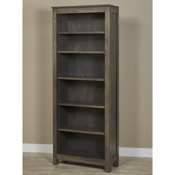 Lino Standard Bookcase by Millwood Pines