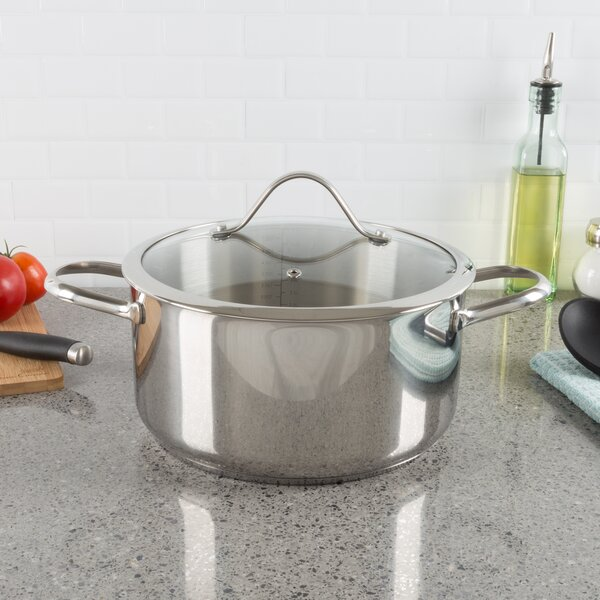 6 Qt. Stock Pot with Lid by Classic Cuisine