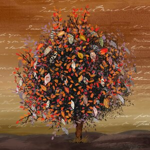 'Autumn' Print on Wrapped Canvas by PTM Images
