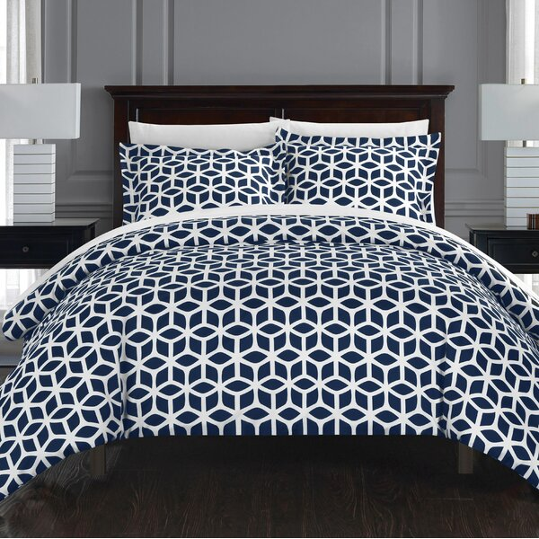 Blanton 6 Piece Reversible Duvet COver Set by Langley Street
