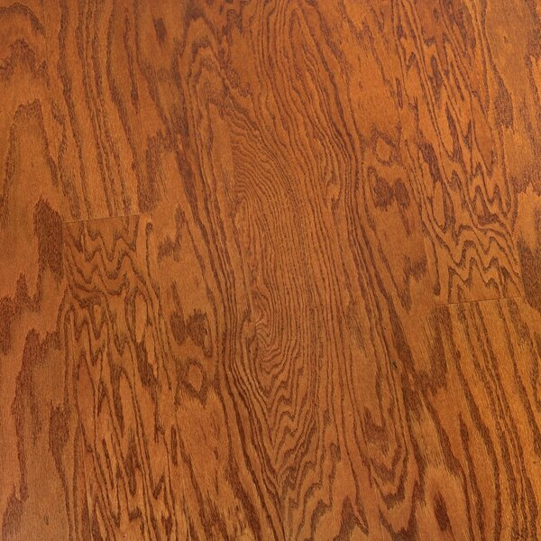 Zellmer 5 Engineered Oak Hardwood Flooring in Honey Red by Charlton Home
