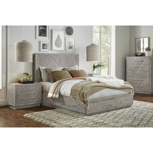 Robards Platform Solid Wood Configurable Bedroom Set by Union Rustic
