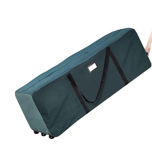Premium Green Rolling Duffle Bag Christmas Tree Storage Bag by Elf Stor
