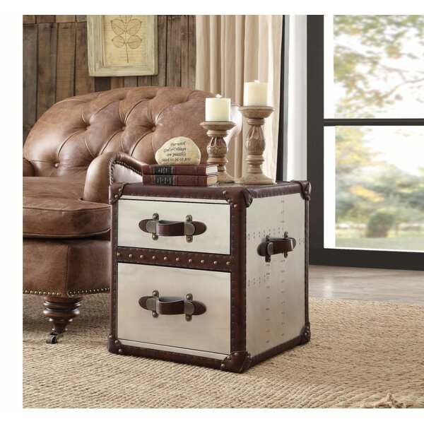 Ching 2 Drawer Nightstand by 17 Stories