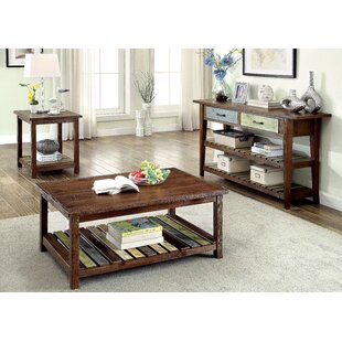 Alexa 3 Piece Coffee Table Set Gracie Oaks