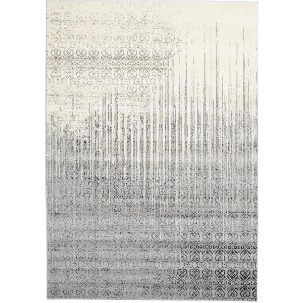 Dungan Gray Area Rug by Mercury Row