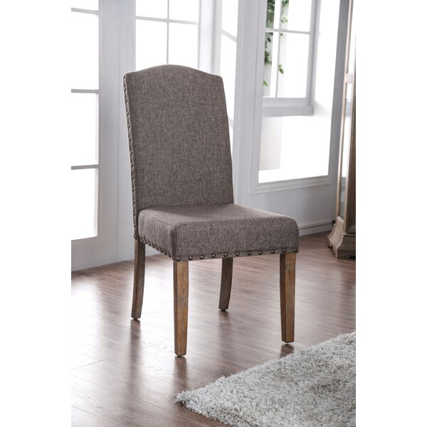 Abigail Upholstered Dining Chair (Set of 2) by One Allium Way