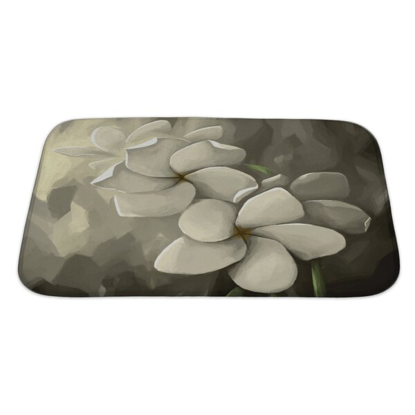 Flowers Digital Painting in Computer Bath Rug by Gear New