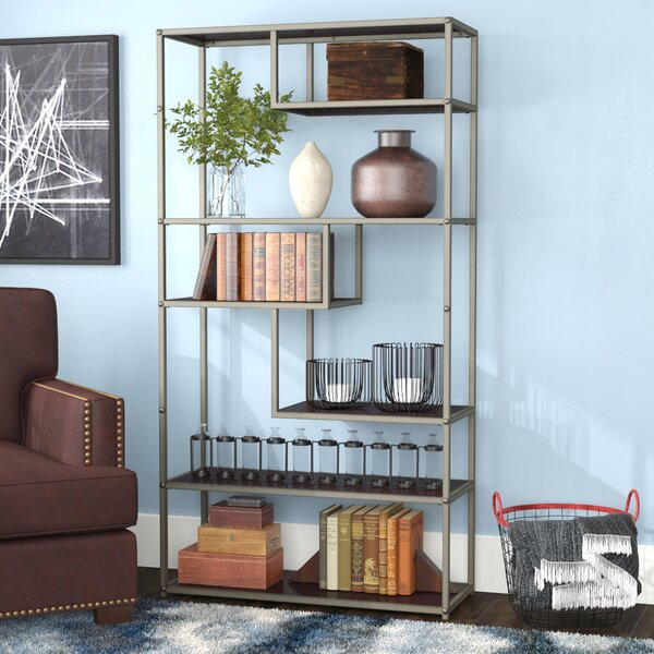 Evonna Industrial Standard Bookcase by 17 Stories