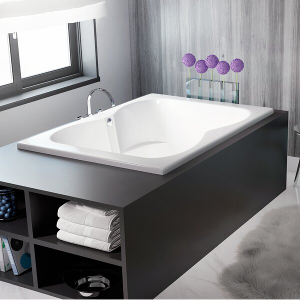 Mito 60 x 42 Drop In Air Bathtub by Jacuzzi®