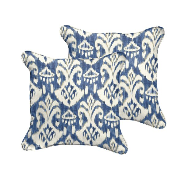 Jenifer Reagan II Indoor/Outdoor Throw Pillow (Set of 2) by Fleur De Lis Living