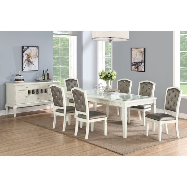 Brandenburg 7 Piece Drop Leaf Dining Set by House of Hampton