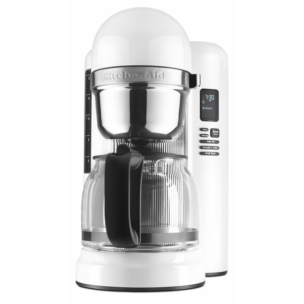 12-Cup One Touch Brewing Coffee Maker by KitchenAi