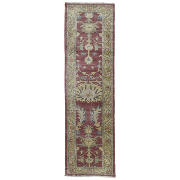 One-of-a-Kind Quijada Oriental Hand-Knotted Runner 2'10