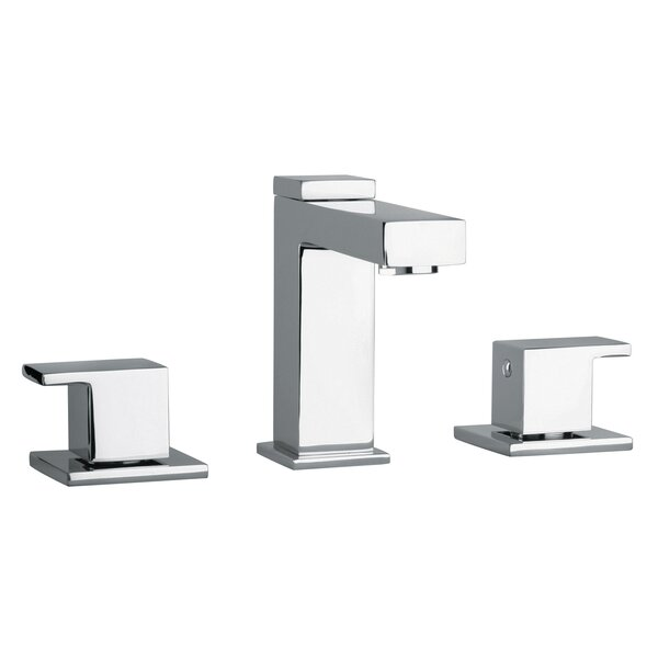 J12 Bath Series Widespread Bathroom Faucet with Drain Assembly by Jewel Faucets Jewel Faucets