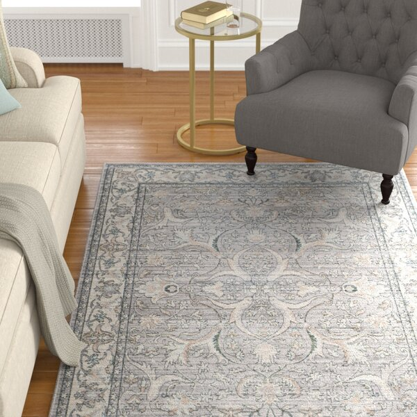 Filton Mauve/Cream Area Rug by Charlton Home