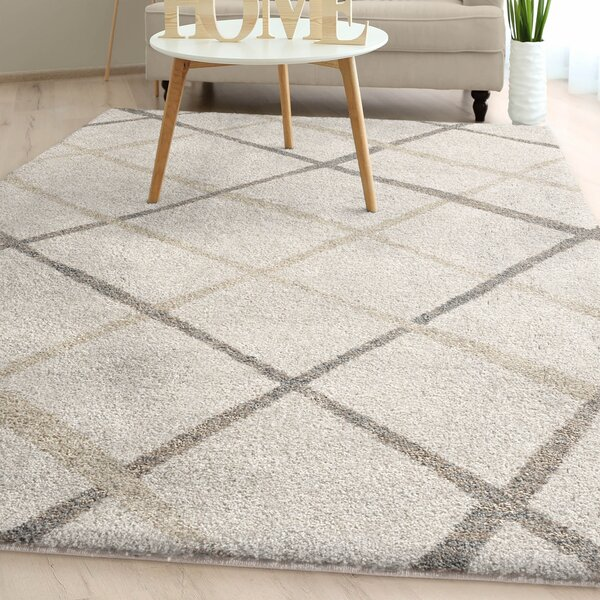 Withyditch Plush Ivory Area Rug by Gracie Oaks