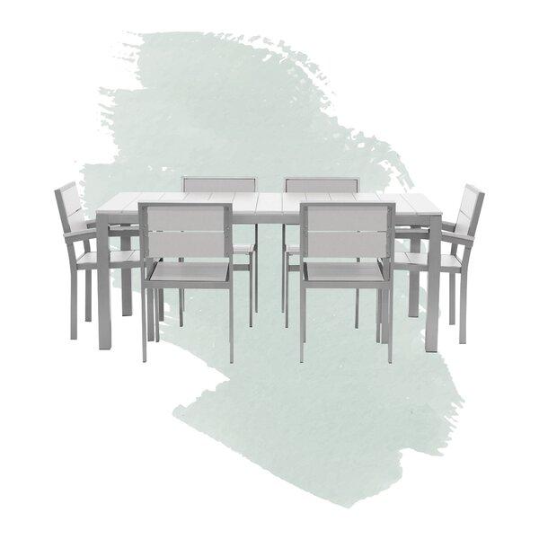 Gavin Modern Outdoor 3 Piece Dining Set by Foundstone