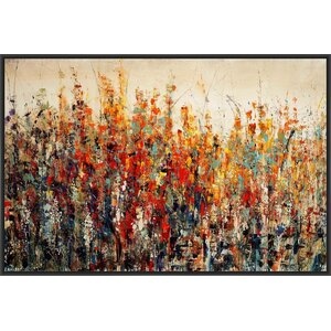 Bliss Buds Framed Painting Print on Canvas by PTM Images